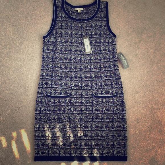 68637fbb92 NY Co Eva Mendes sleeveless sweater dress.